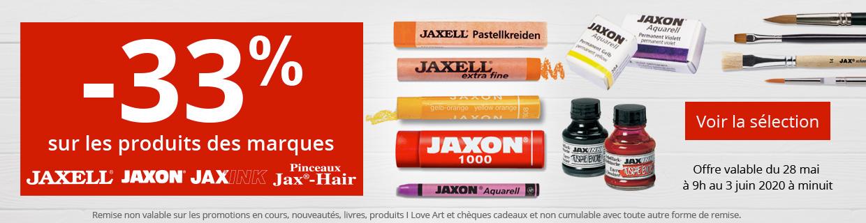 33 % sur Jaxell - Jaxon