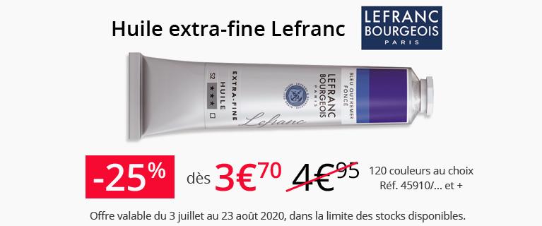 Eté 2020 - Huile Lefranc
