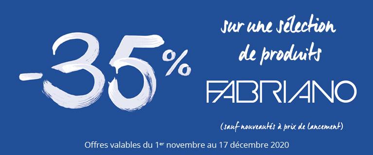 -35% sur une sélection de produits Fabriano