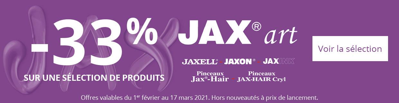 -33% sur une sélection de produits Jax Art