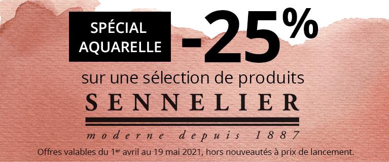 -25% sur une sélection de produits Sennelier