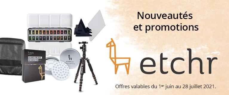 -25% sur une sélection de produits Etchr