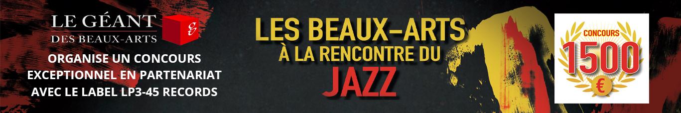 Concours Jazz - LP3-45 Label