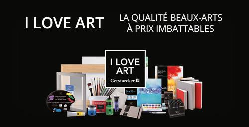 Découvrez nos produits de la gamme I Love Art !