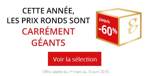 Offre Prix Ronds 2019 !