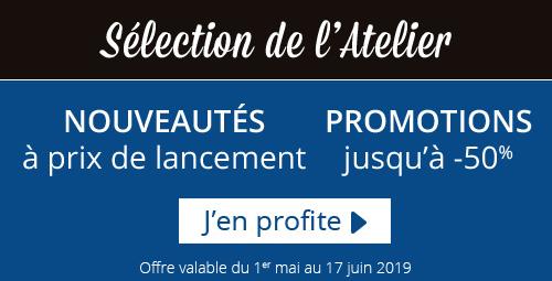 Découvrez les promotions de l'Atelier Géant N°39.