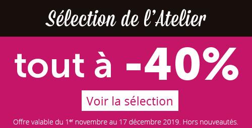 La sélection de l'Atelier Géant N°40 !