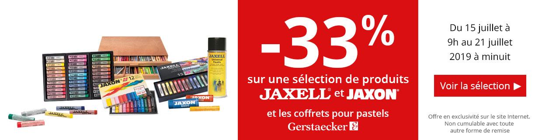 -33% sur une sélection de produits Jax