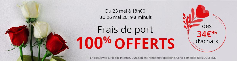 Frais de port offerts dès 34,95€ d'achat !