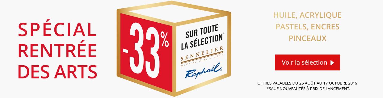 Jusqu'à -33% sur une sélection de produits Sennelier